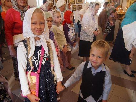 Богослужение в Храме Преображения Господня: Успение Пресвятой Богородицы (28 августа), Воздвижение Креста Господня (27 сентября)