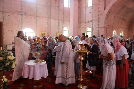 Престольный праздник в храме Преображения Господня в Коммунарке (19 августа 2017)